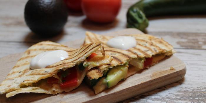 Quesadilla z warzywami